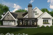 Farmhouse Style House Plan - 3 Beds 2.5 Baths 2483 Sq/Ft Plan #51-1133 Exterior - Front Elevation
