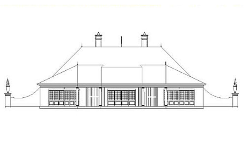 european style house plan  ft plan