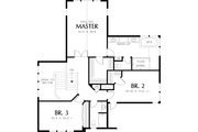 Craftsman Style House Plan - 5 Beds 4.5 Baths 3926 Sq/Ft Plan #48-563 Floor Plan - Upper Floor Plan