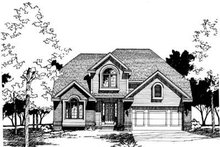 Home Plan Design - Traditional Exterior - Front Elevation Plan #20-639