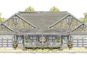 Bungalow Style House Plan - 3 Beds 2 Baths 2390 Sq/Ft Plan #20-1239 Exterior - Front Elevation
