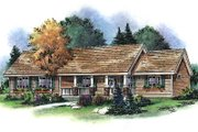 Country Style House Plan - 3 Beds 2.5 Baths 2022 Sq/Ft Plan #18-4506