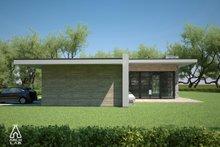 Modern Exterior - Other Elevation Plan #552-4