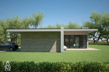 Modern Exterior - Other Elevation Plan #552-4