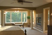 Home Plan - Maste bedroom photo of Craftsman style home