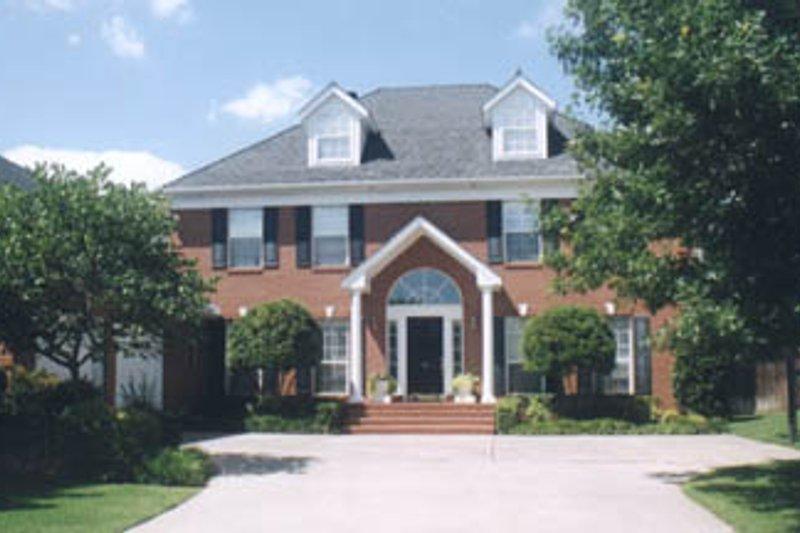 Colonial Exterior - Front Elevation Plan #52-131 - Houseplans.com