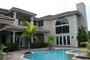 Mediterranean Style House Plan - 6 Beds 5.5 Baths 5388 Sq/Ft Plan #420-169 Photo