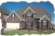 Traditional Style House Plan - 4 Beds 2.5 Baths 2755 Sq/Ft Plan #20-178 Exterior - Front Elevation