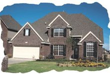 Home Plan - Traditional Exterior - Front Elevation Plan #20-178