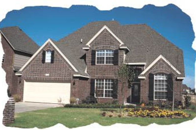 Traditional Exterior - Front Elevation Plan #20-178 - Houseplans.com