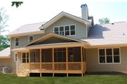 Country Style House Plan - 3 Beds 3.5 Baths 3307 Sq/Ft Plan #419-267 Exterior - Rear Elevation
