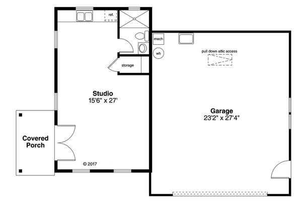 Traditional Floor Plan - Main Floor Plan Plan #124-1051