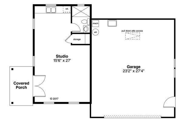 Traditional Floor Plan - Main Floor Plan Plan #124-1051