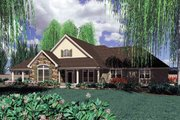 Traditional Style House Plan - 3 Beds 2.5 Baths 2650 Sq/Ft Plan #48-234 Exterior - Front Elevation