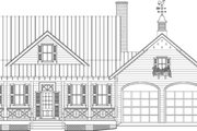 Farmhouse Style House Plan - 3 Beds 2 Baths 1738 Sq/Ft Plan #137-273 Exterior - Other Elevation