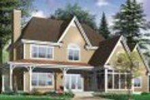 Dream House Plan - Farmhouse Exterior - Other Elevation Plan #23-666