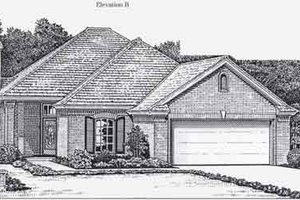 Colonial Exterior - Front Elevation Plan #310-764