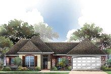 Home Plan - European Exterior - Front Elevation Plan #430-62