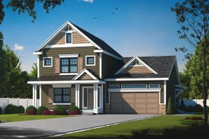 Dream House Plan - Traditional Exterior - Front Elevation Plan #20-2441