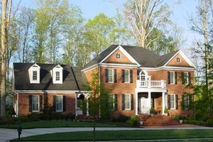Dream House Plan - Southern Exterior - Front Elevation Plan #137-139