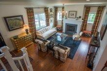 Colonial Interior - Family Room Plan #451-26