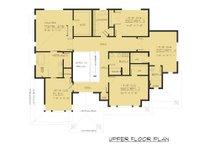 Contemporary Floor Plan - Upper Floor Plan Plan #1066-47