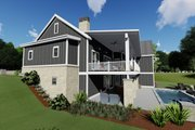 Farmhouse Style House Plan - 3 Beds 2.5 Baths 2479 Sq/Ft Plan #1069-17 Exterior - Other Elevation
