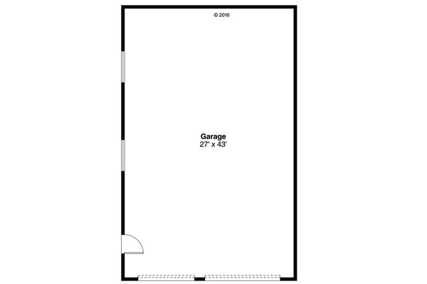 Traditional Floor Plan - Main Floor Plan Plan #124-1055