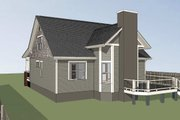 Craftsman Style House Plan - 3 Beds 2.5 Baths 1610 Sq/Ft Plan #79-222 Exterior - Other Elevation