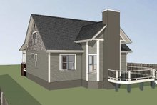 Craftsman Exterior - Other Elevation Plan #79-222