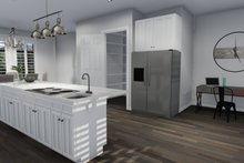 Dream House Plan - European Interior - Kitchen Plan #1060-75