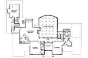 European Style House Plan - 5 Beds 6.5 Baths 7045 Sq/Ft Plan #17-1177 Floor Plan - Upper Floor
