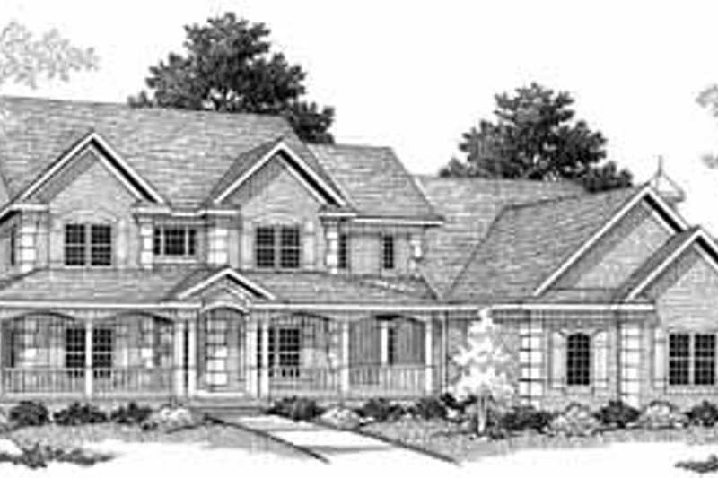 Dream House Plan - Country Photo Plan #70-543