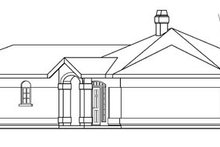 Mediterranean Exterior - Other Elevation Plan #124-430