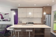 Home Plan - Contemporary Interior - Kitchen Plan #23-2612