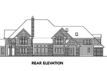 Dream House Plan - European Exterior - Rear Elevation Plan #48-257