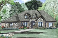 Home Plan - European Exterior - Other Elevation Plan #17-2497