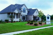 Architectural House Design - Traditional Exterior - Front Elevation Plan #20-666