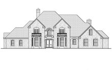 House Plan Design - Traditional Exterior - Front Elevation Plan #935-16