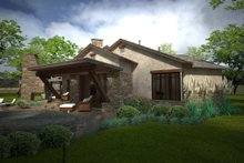 Ranch Exterior - Front Elevation Plan #120-194