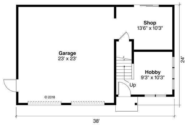 Dream House Plan - Cottage Floor Plan - Main Floor Plan #124-1188