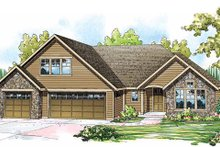 Home Plan - Traditional Exterior - Front Elevation Plan #124-843