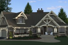 Craftsman Exterior - Front Elevation Plan #51-571