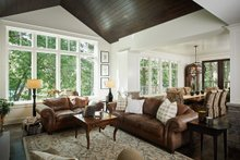 House Plan Design - Country Interior - Family Room Plan #928-333