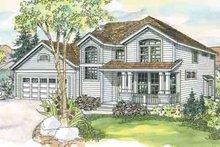Craftsman Exterior - Front Elevation Plan #124-557