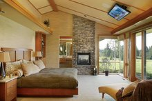 House Plan Design - Ranch Interior - Master Bedroom Plan #48-433