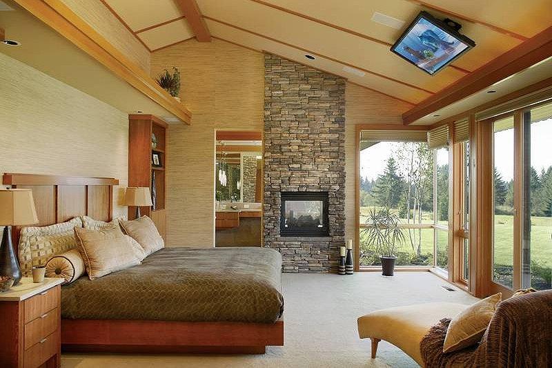 Ranch Interior - Master Bedroom Plan #48-433 - Houseplans.com