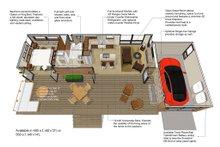 Modern Floor Plan - Main Floor Plan Plan #484-4