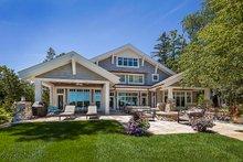 House Plan Design - Craftsman Exterior - Rear Elevation Plan #928-305