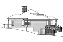 Ranch Exterior - Other Elevation Plan #124-522